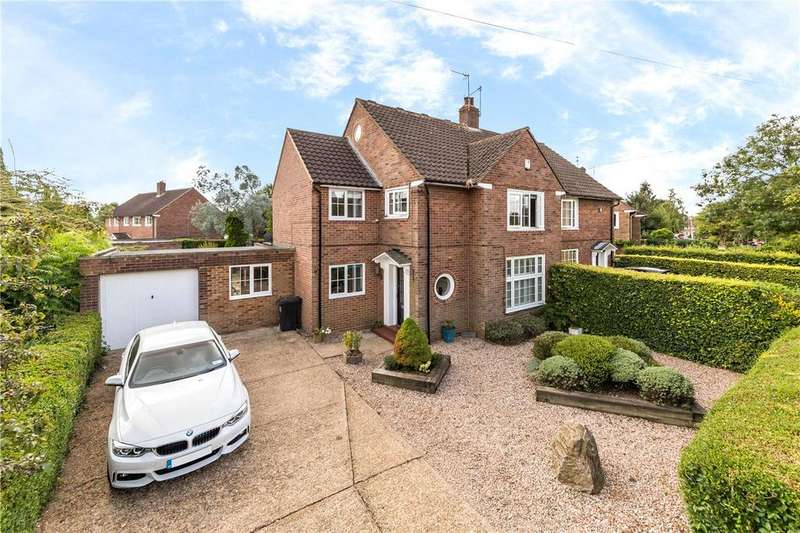 4 Bedrooms Semi Detached House for sale in Colgrove, Welwyn Garden City, Hertfordshire