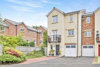 4 Bedrooms End Of Terrace House for sale in Faraday Court, Nevilles Cross, Durham, Co Durham, DH1