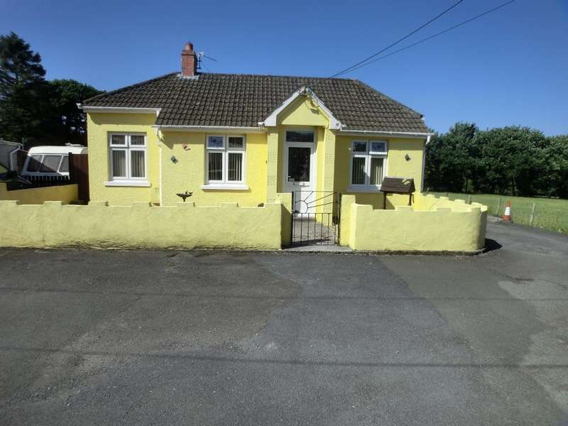 3 Bedrooms Bungalow for sale in Leyshon Road,Gwaun Cae Gurwen , Ammanford. SA18 1EL