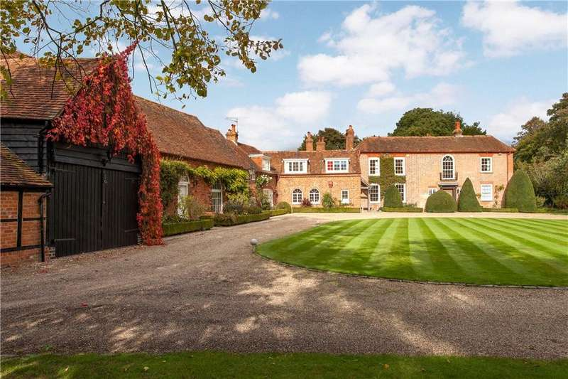 7 Bedrooms Detached House for sale in The Street, Waltham St. Lawrence, Berkshire, RG10