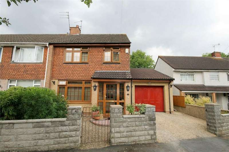 3 Bedrooms Semi Detached House for sale in Kingston Close, Mangotsfield, Bristol
