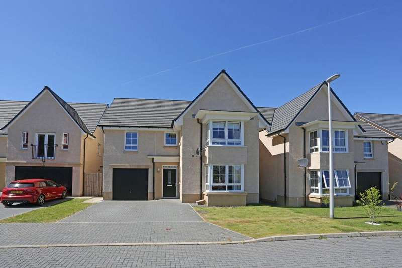 4 Bedrooms Detached House for sale in 18 Jewel Gardens, Eskbank, EH22 3FQ