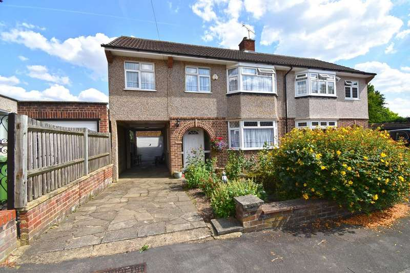 4 Bedrooms Semi-detached Villa House for sale in Ramsay Close, Broxbourne EN10