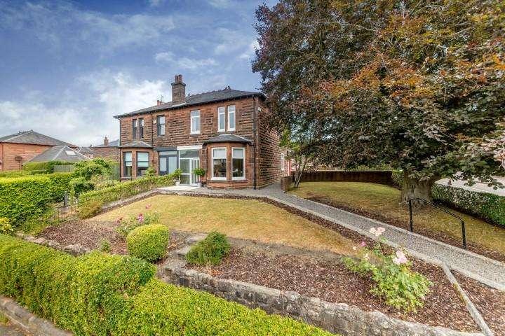 3 Bedrooms Semi-detached Villa House for sale in 50 Essex Drive, Jordanhill, G14 9LZ