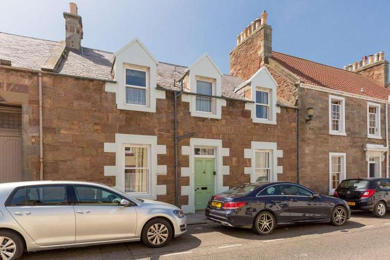 4 Bedrooms Terraced House for sale in 3 Victoria Road, North Berwick, East Lothian, EH39 4JL