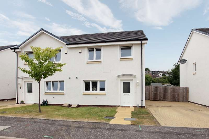 3 Bedrooms Semi-detached Villa House for sale in Stephens Park, Inverkeithing, Fife, KY11 1FB