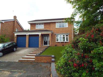 4 Bedrooms Detached House for sale in Bieston Close, Wrexham, LL13