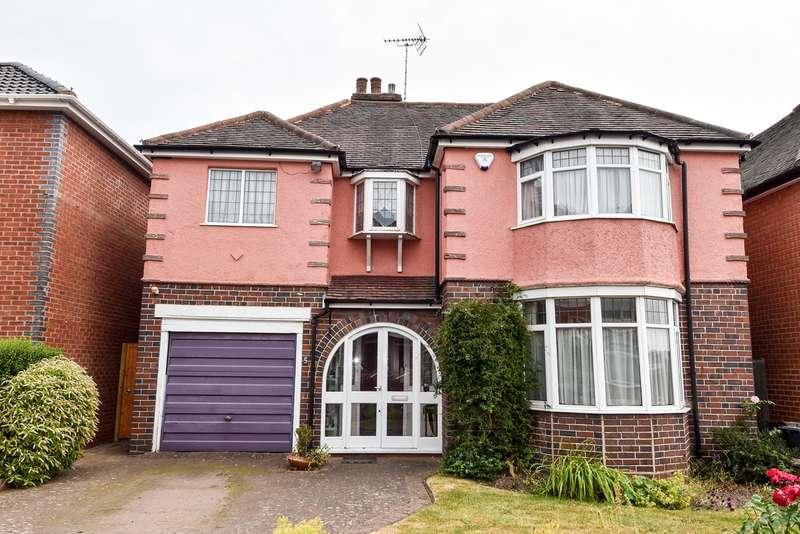 4 Bedrooms Detached House for sale in Norman Road, Northfield, Birmingham, B31