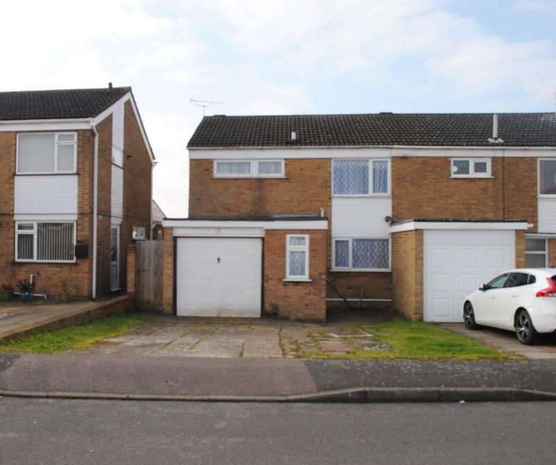 3 Bedrooms Semi Detached House for sale in Freshwater Close, Wigston, LE18