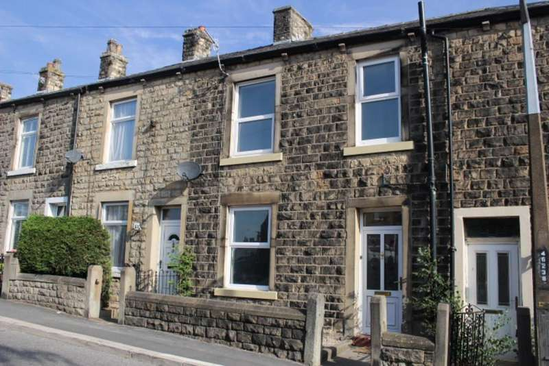 3 Bedrooms Terraced House for sale in Railway Street , Hadfield, Glossop