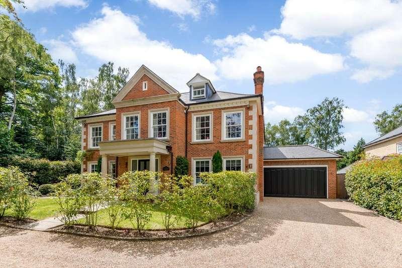 5 Bedrooms Detached House for sale in Sandy Lane, Cobham, KT11