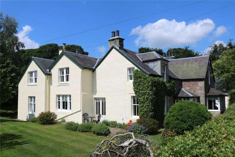 5 Bedrooms Detached House for sale in Kirklea, Skirling, By Biggar, Peeblesshire, ML12