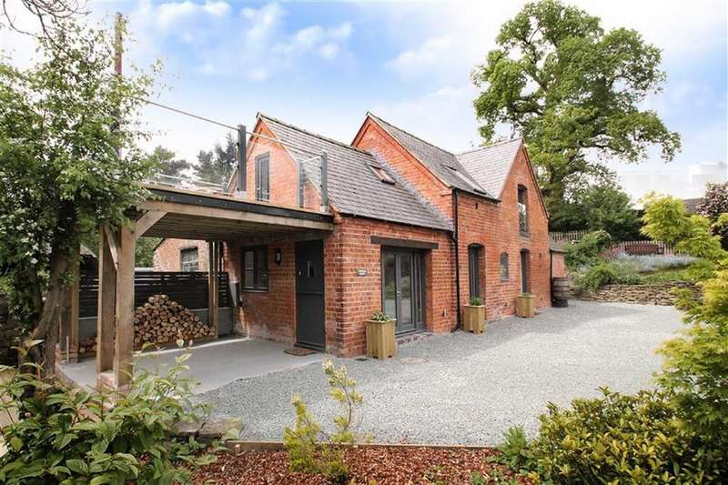 3 Bedrooms Country House Character Property for sale in Church Stoke Montgomery, Powys, SY15