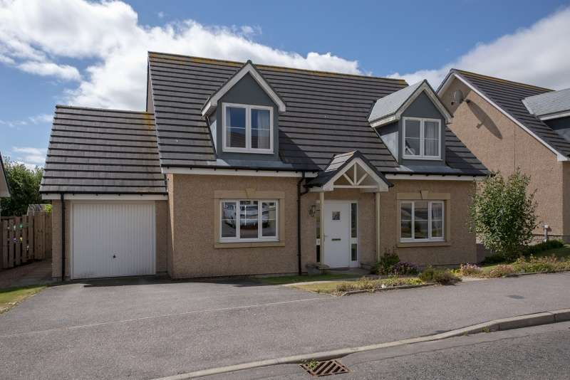 4 Bedrooms Detached House for sale in Harvey Way, Rothienorman, Inverurie, AB51 8GJ