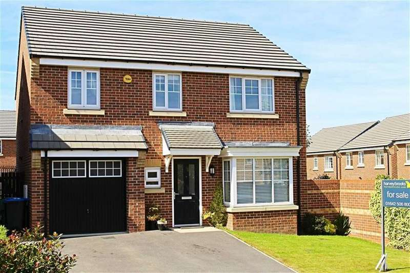 4 Bedrooms Detached House for sale in Buttercup Grove, Stainton