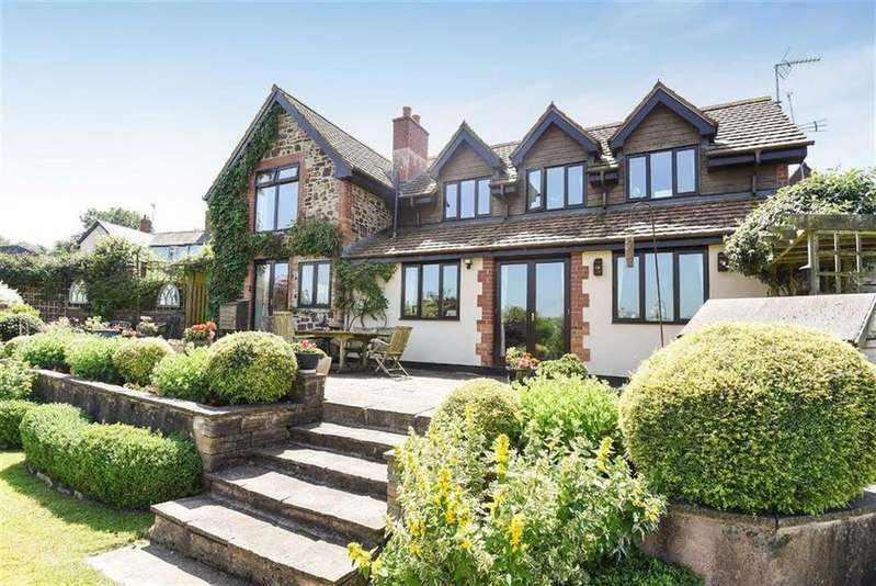 4 Bedrooms Detached House for sale in West Knowle, Dulverton, Dulverton, TA22