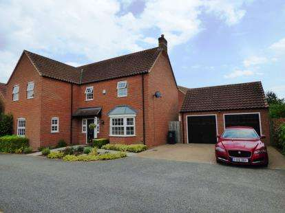 5 Bedrooms Detached House for sale in St. Lawrence Drive, Bardney, Lincoln
