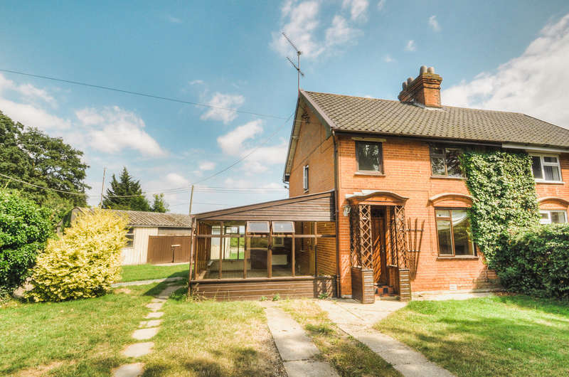 3 Bedrooms Semi Detached House for sale in Walpole Road, Bramfield