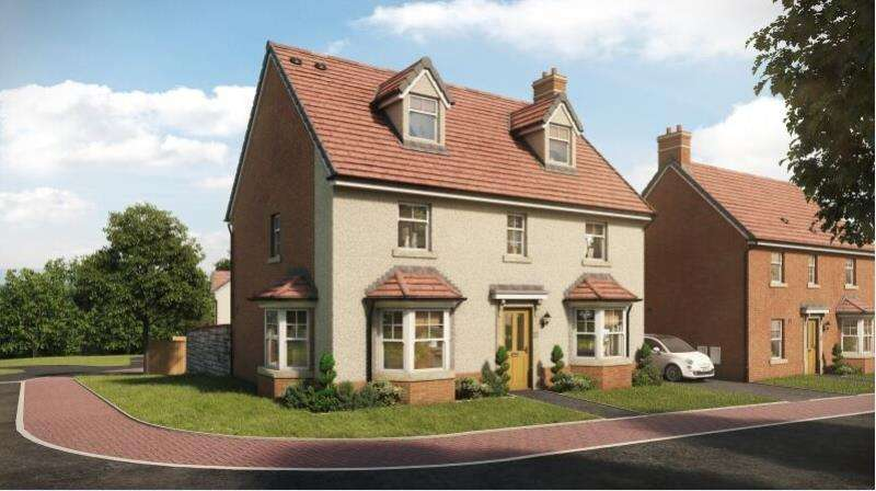 5 Bedrooms Detached House for sale in The Thornbury, Pastures Green , Cwmbran