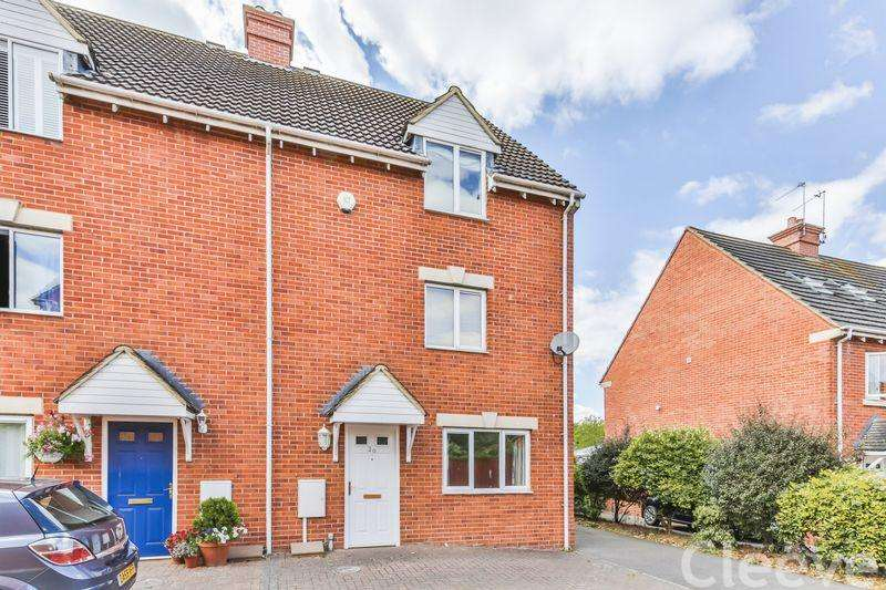 3 Bedrooms Semi Detached House for sale in Hanson Gardens, Bishops Cleeve