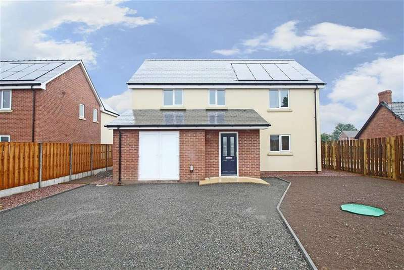 4 Bedrooms Detached House for sale in Ramblers Way, WINFORTON, Winforton Hereford, Herefordshire