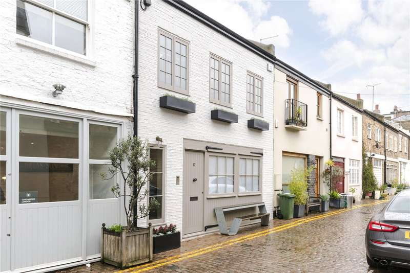 3 Bedrooms House for sale in Colville Mews, London, W11