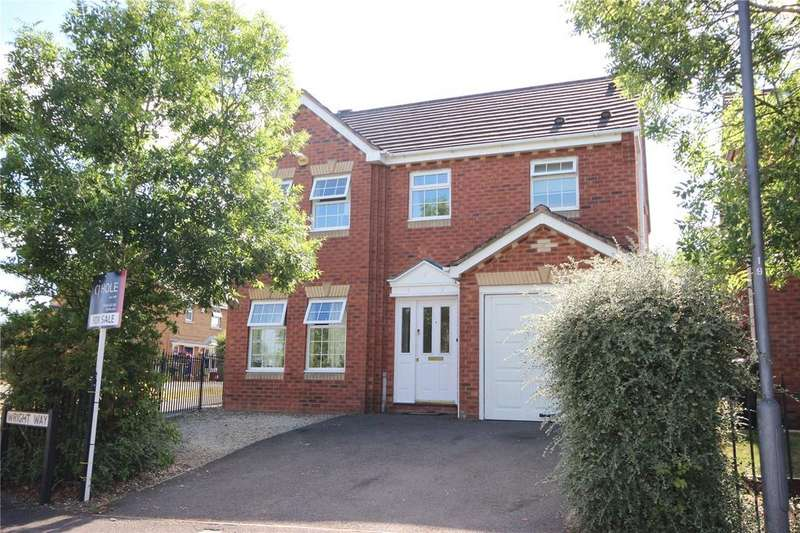 4 Bedrooms Detached House for sale in Wright Way, Stoke Park, Bristol, BS16
