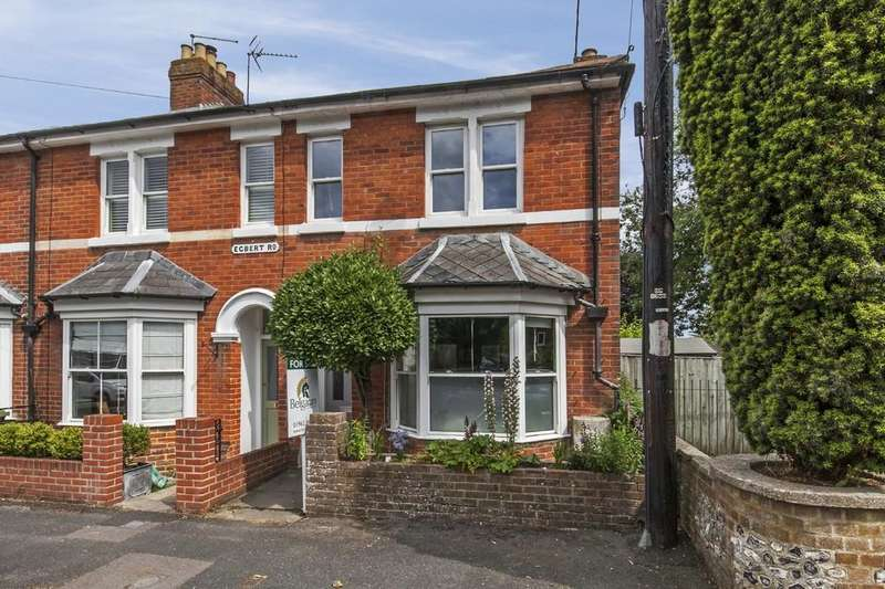 3 Bedrooms End Of Terrace House for sale in Egbert Road, Hyde, Winchester, SO23