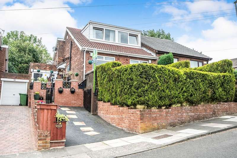4 Bedrooms Semi Detached House for sale in Lumley Avenue, Swalwell, Newcastle Upon Tyne, NE16