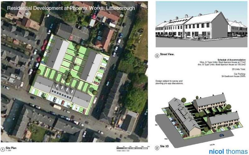 Land Commercial for sale in Phoenix Iron Works Site, Howarth Street, Littleborough