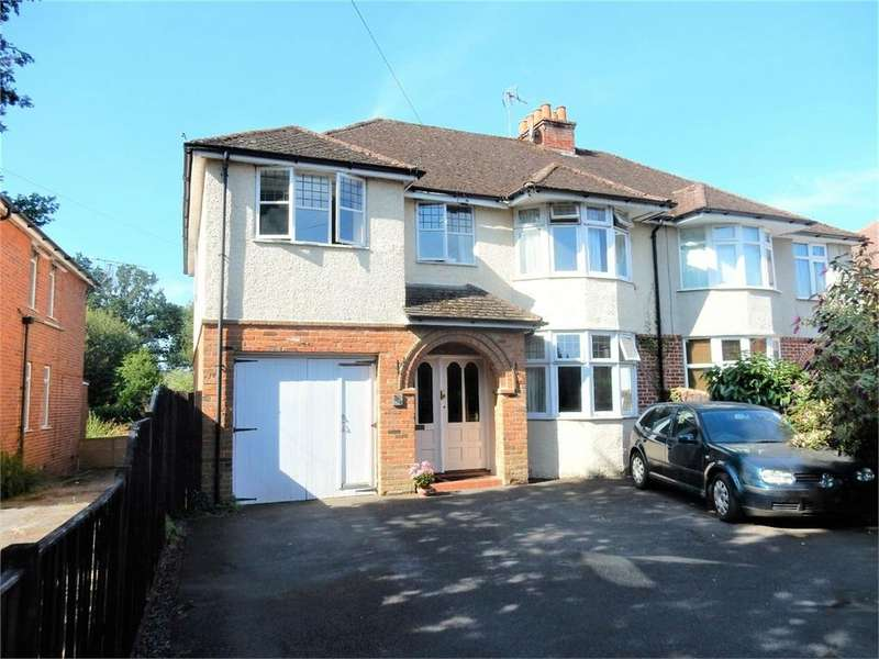 5 Bedrooms Semi Detached House for sale in Yorktown Road, College Town, Sandhurst, Berkshire