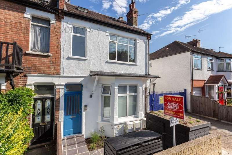 3 Bedrooms Flat for sale in Milton Road, Hanwell, W7