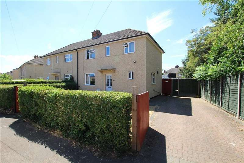 3 Bedrooms Semi Detached House for sale in Lindsell Crescent, Biggleswade, SG18