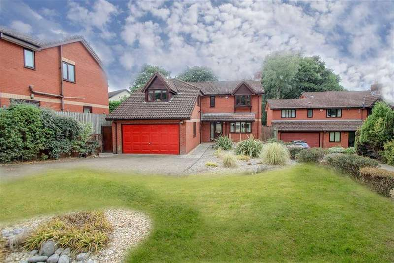5 Bedrooms Detached House for sale in Churchill Close, Lisvane, Cardiff