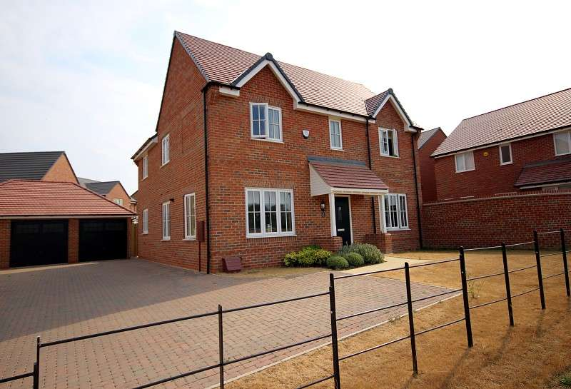 4 Bedrooms Detached House for sale in Home Farm Drive, Boughton, Northampton, Northamptonshire. NN2 8ES