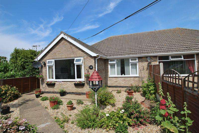 2 Bedrooms Semi Detached Bungalow for sale in Dormy Avenue, Winthorpe