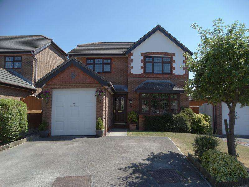 4 Bedrooms Detached House for sale in Rhys Evans Close, Penrhyn Bay