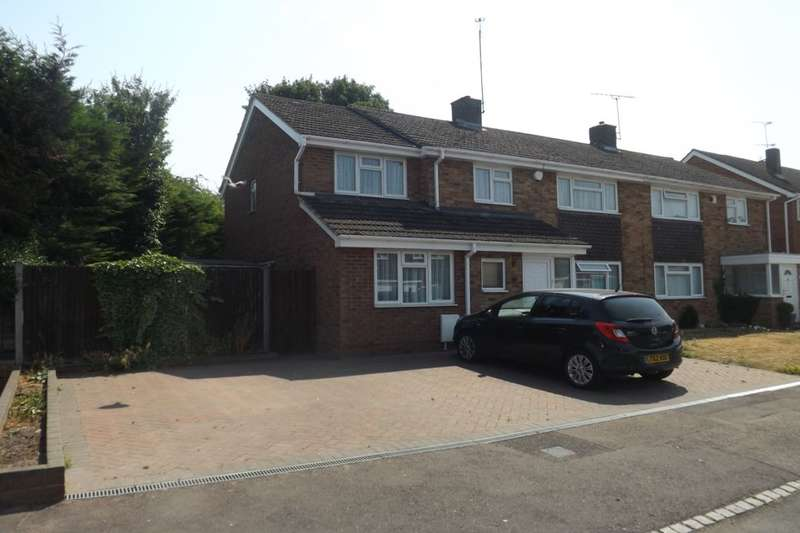 5 Bedrooms Semi Detached House for sale in Leston Close, Dunstable, LU6