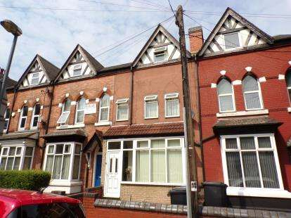 4 Bedrooms Terraced House for sale in Cannon Hill Road, Balsall Heath, Birmingham, West Midlands