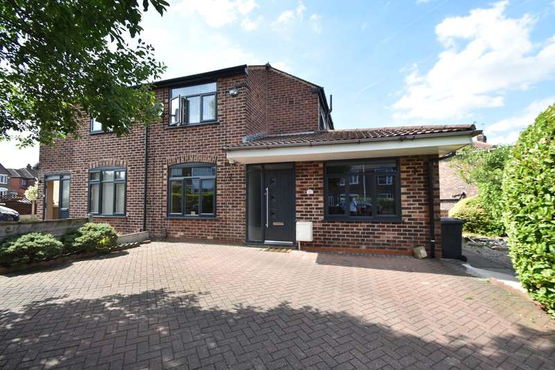 3 Bedrooms Semi Detached House for sale in Windsor Crescent, Prestwich, Manchester, M25