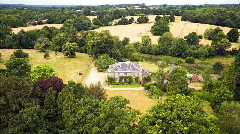 7 Bedrooms Detached House for sale in Hensill Lane, Hawkhurst, Cranbrook, Kent