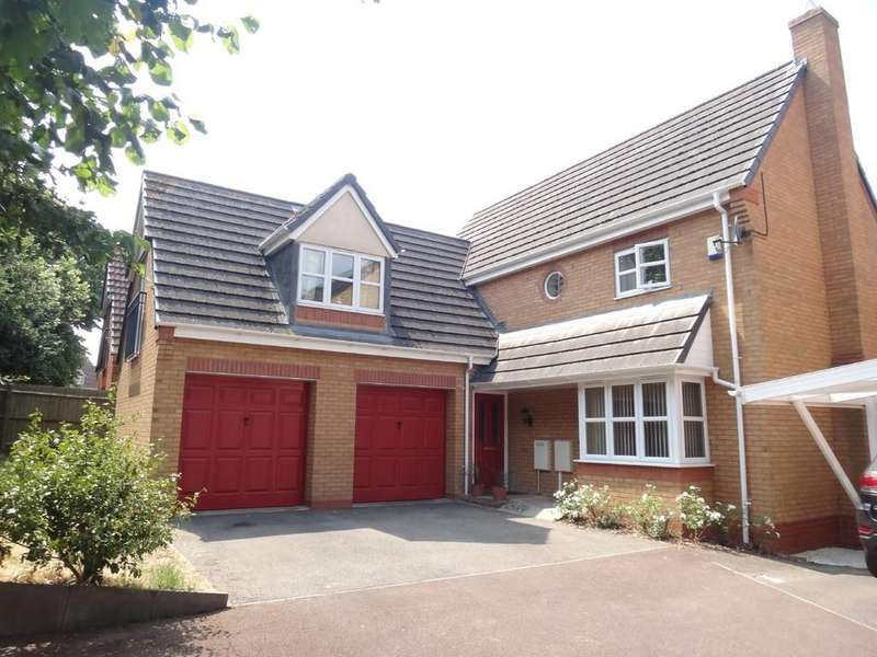 4 Bedrooms Detached House for sale in Columbine Road, Hamilton, Leicester