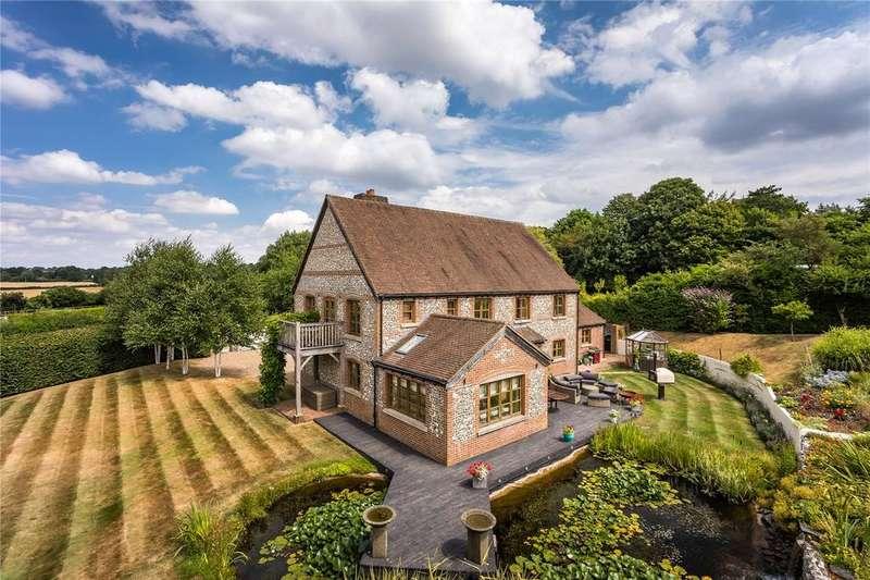 5 Bedrooms Detached House for sale in Stancomb Broad Lane, Medstead, Alton, Hampshire, GU34