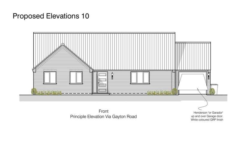 3 Bedrooms Bungalow for sale in Gayton Road, East Winch, King's Lynn