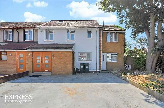 4 Bedrooms End Of Terrace House for sale in Sopwith Road, Hounslow, Greater London