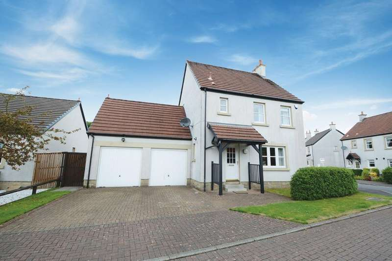 4 Bedrooms Detached House for sale in 1 Noddleburn Grove, Largs, KA30 8UA