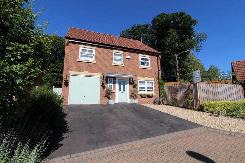 4 Bedrooms Detached House for sale in Meldrum Drive, Gainsborough