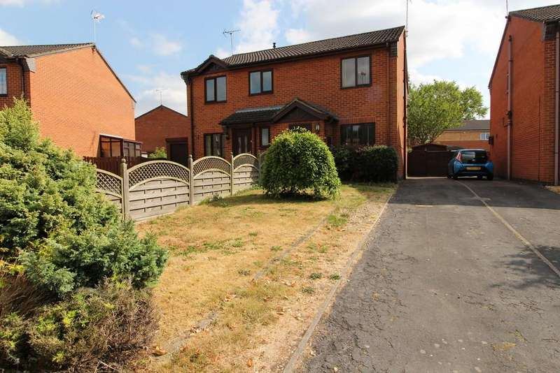 2 Bedrooms Semi Detached House for sale in Vanessa Drive, Gainsborough