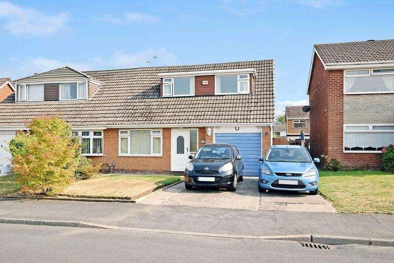 3 Bedrooms Semi Detached House for sale in Malpas Road, Runcorn