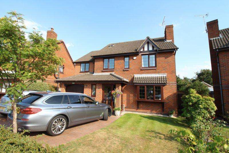 6 Bedrooms Detached House for sale in Poulton Green Close, Spital